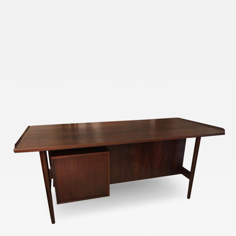 Arne Vodder Arne Vodder desk executive rosewood desk