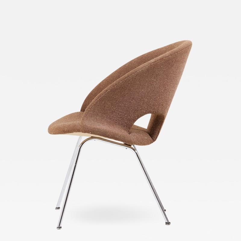 Arno Votteler Model 350 Lounge Chair by Arno Votteler for Walter Knoll Germany 1950s