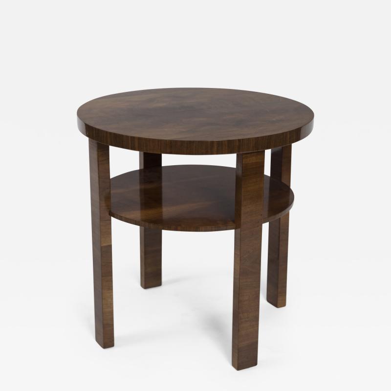Art Deco Italian Two Tier Side Table