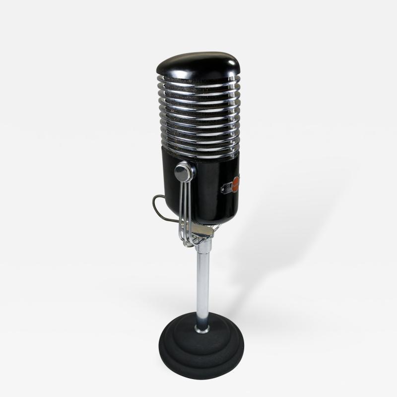 Art Deco Modernist Microphone Iconic