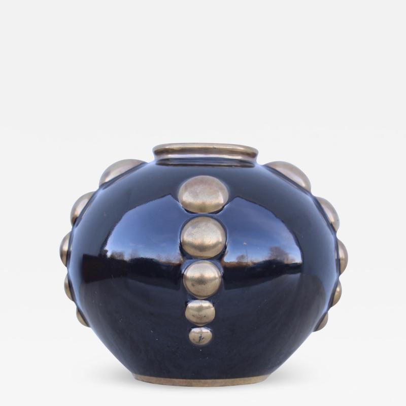Art Deco Odyv France Porcelain Vase