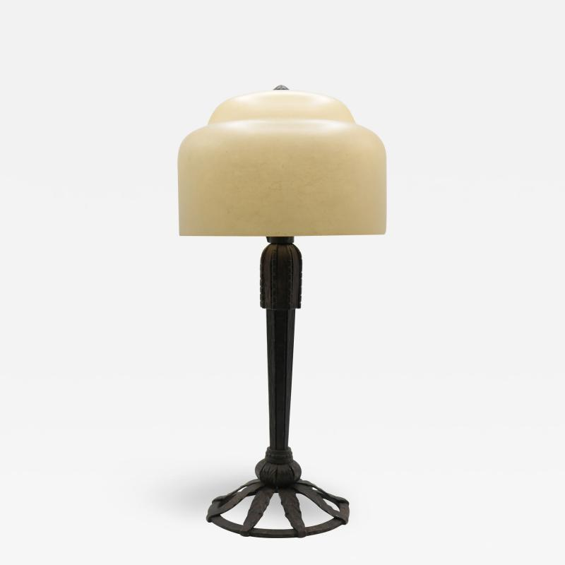 Art Deco Table Lamp Attributed to Raymond Subes
