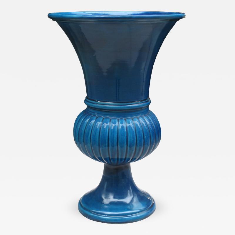 Art Deco Tall Ceramic Vase