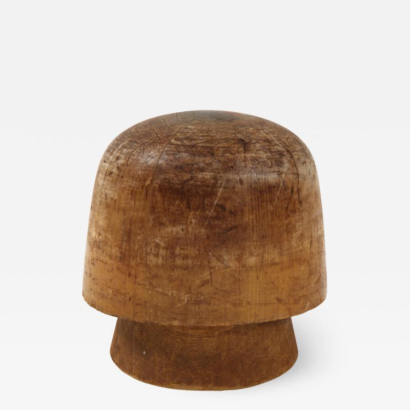 Art Deco Wooden Hat Form
