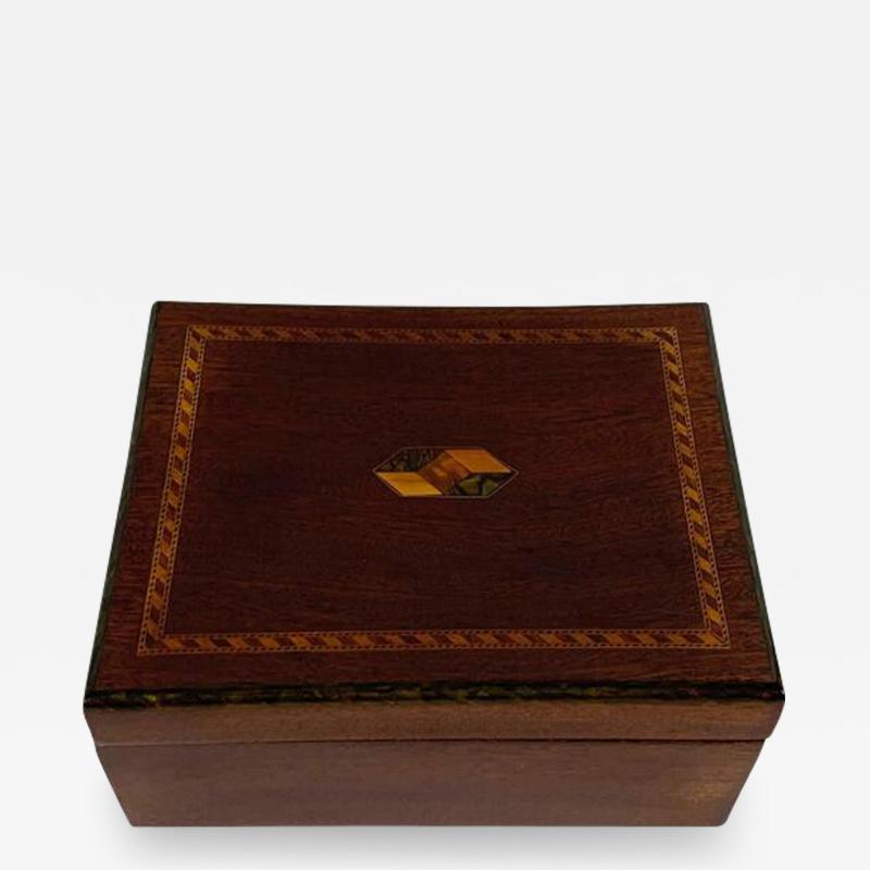 Art Nouveau box from Austria around 1900