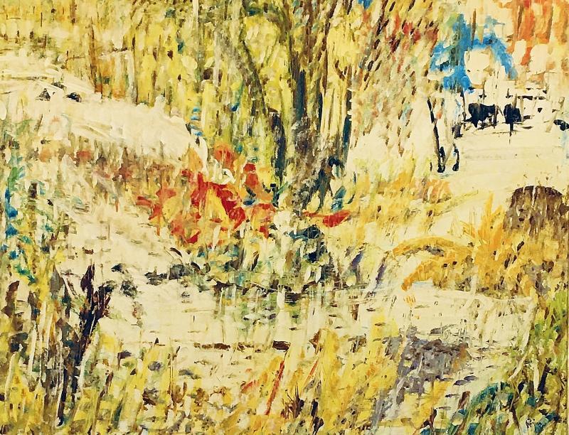 Arthur Pinajian Untitled Lyrical Landscape 399
