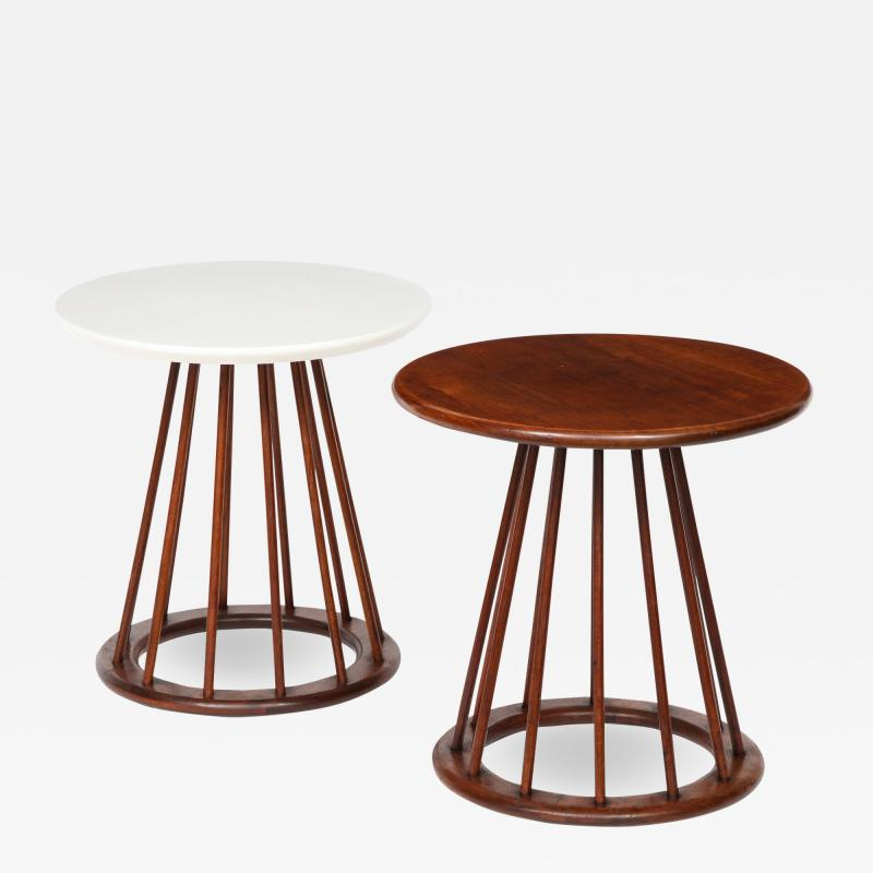 Arthur Umanoff Set of Two Arthur Umanoff Side Tables for Washington Woodcraft