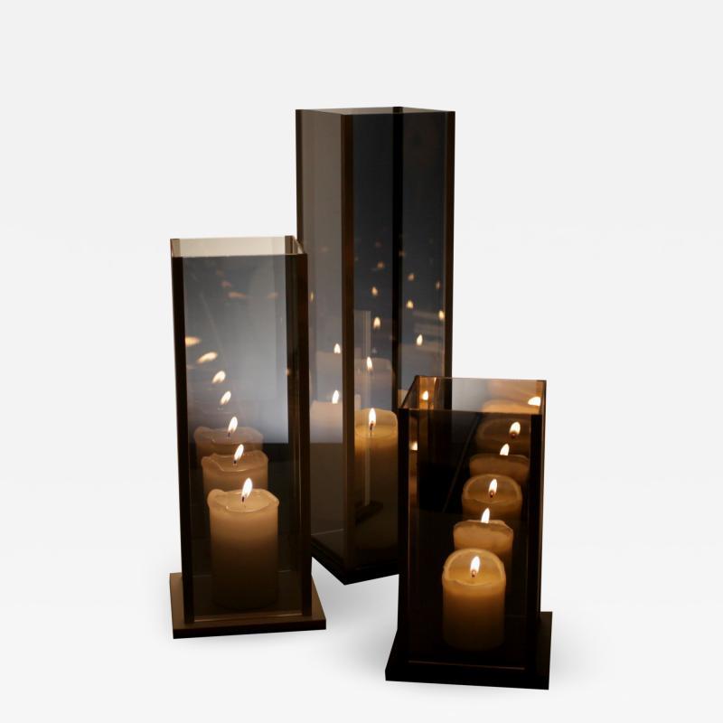Arturo Erbsman Arturo Erbsman Kaleido Original Three Candleholders Set
