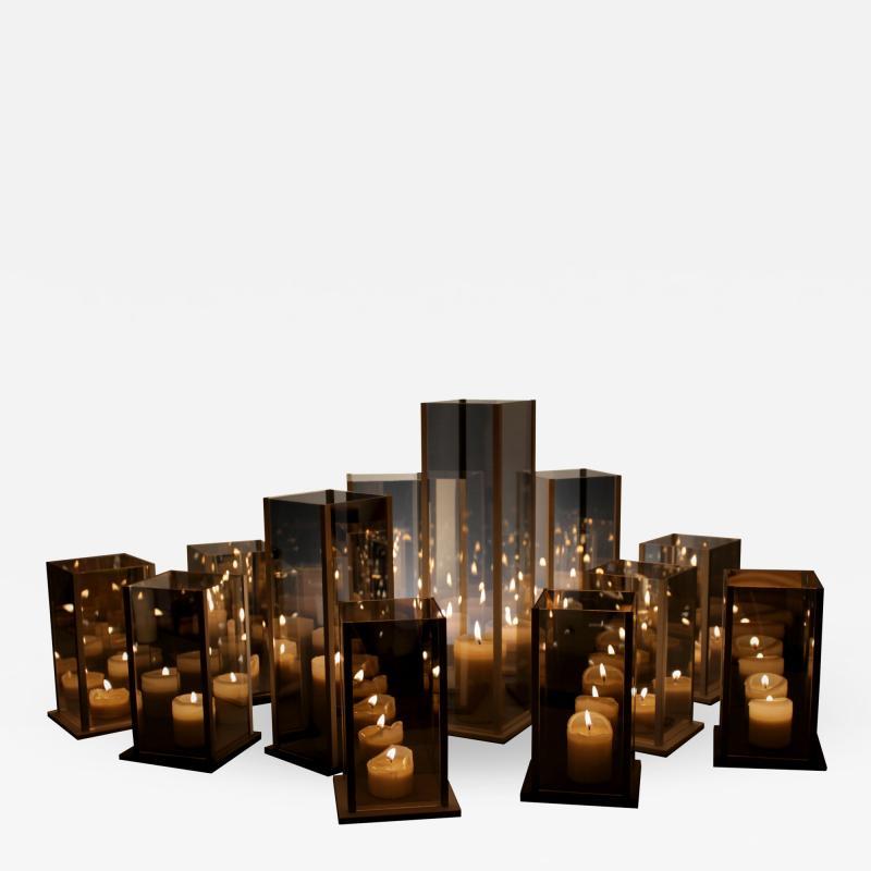 Arturo Erbsman Original 12 Candleholders Set Kaleido Arturo Erbsman