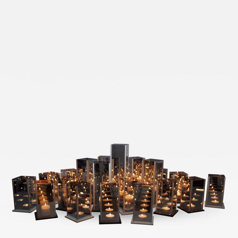 Arturo Erbsman Original 20 Candleholders Set Kaleido Arturo Erbsman