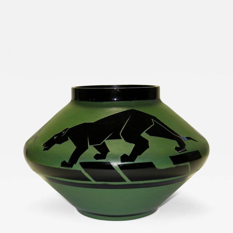 Artver Rare Art Deco Vase by Artver