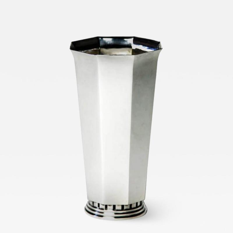 Atelier Borgila Sterling Silver Vase