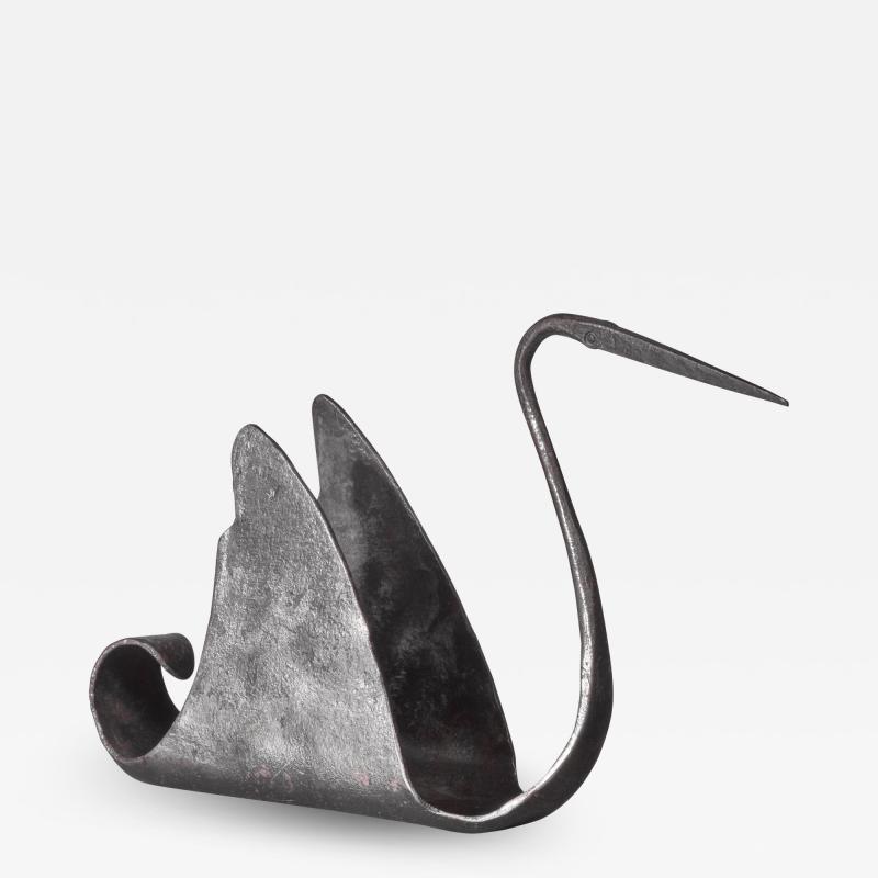 Atelier de Marolles Jean Touret zoomorphic iron sculpture France 1950s