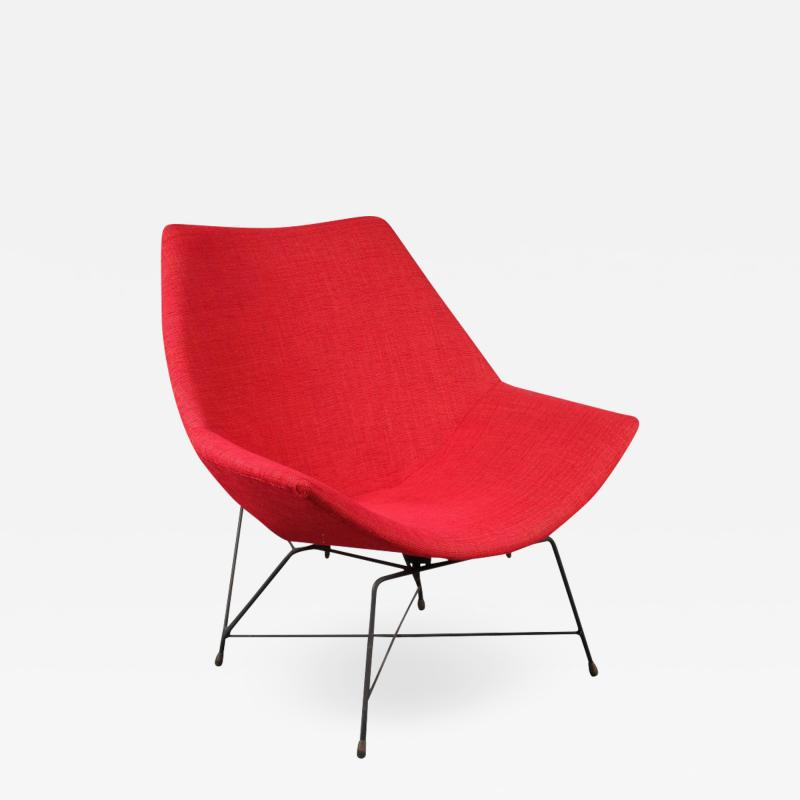 Augusto Bozzi Kosmos Chair by Augusto Bozzi for Saporiti Italy 1954