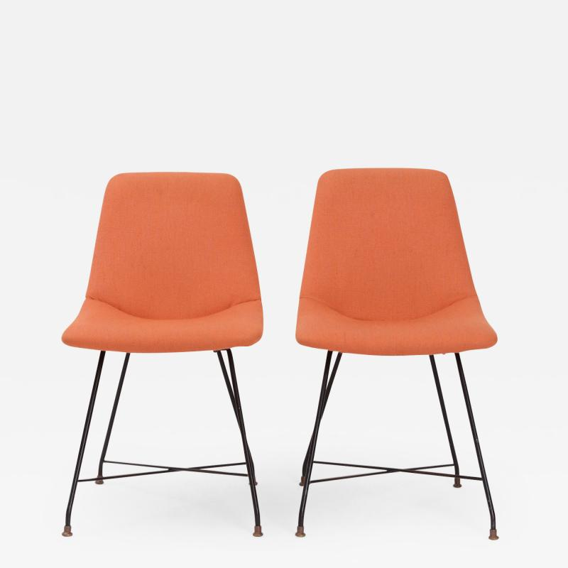 Augusto Bozzi Pair of Aster Chairs by Augusto Bozzi c 1956