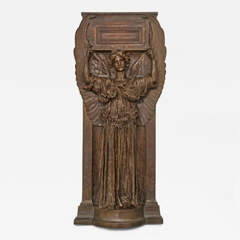 Augustus Saint Gaudens Amor Caritas Modeled 1898