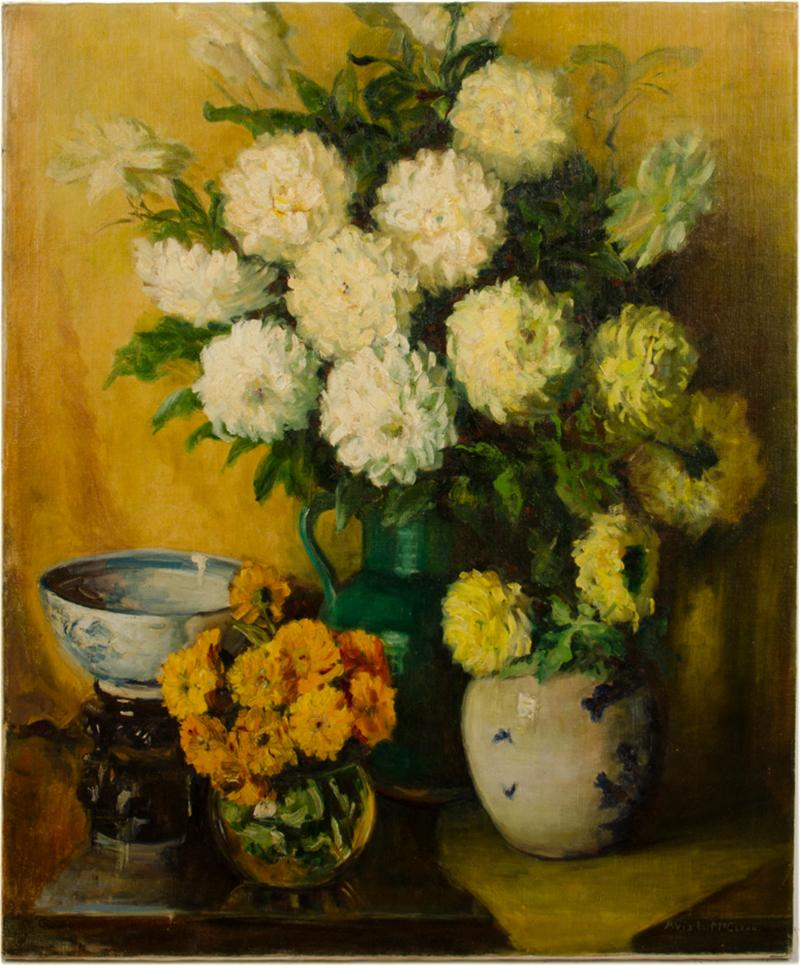 Avis L McClean Avis L McClean American Mid 20th Century Bouquet