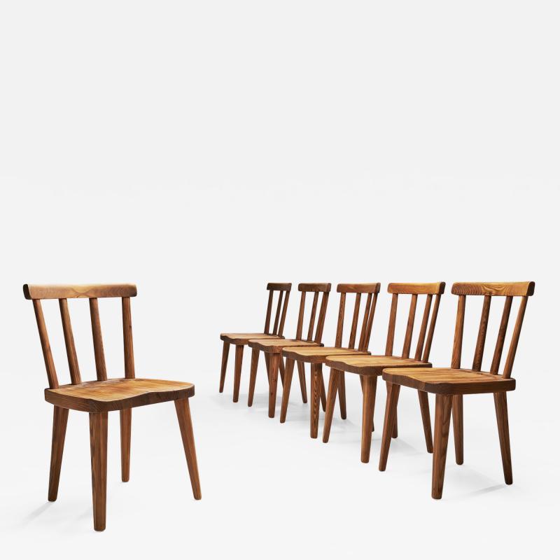 Axel Einar Hjorth Axel Einar Hjorth Ut Dining Chairs for Nordiska Kompaniet Sweden 1930s