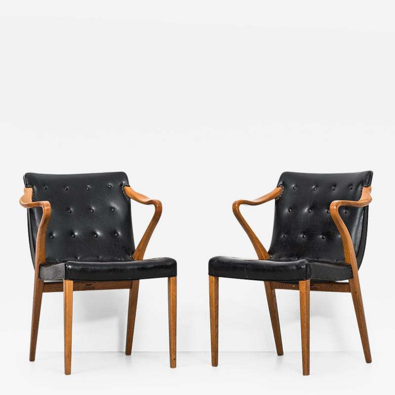 Axel Larsson Axel Larsson Armchairs model 1522