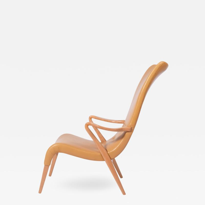 Axel Larsson Axel Larsson Easy Chair for Svenska M belfabrik Bodafors model 1207