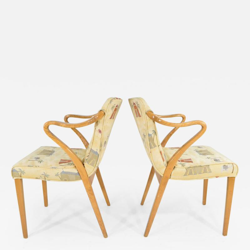Axel Larsson Rare Pair of Armchairs by Axel Larsson for Bodafors 1936