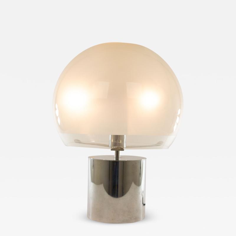 Azucena Porcino table or floor lamp by Luigi Caccia Dominioni for Azucena 1960s
