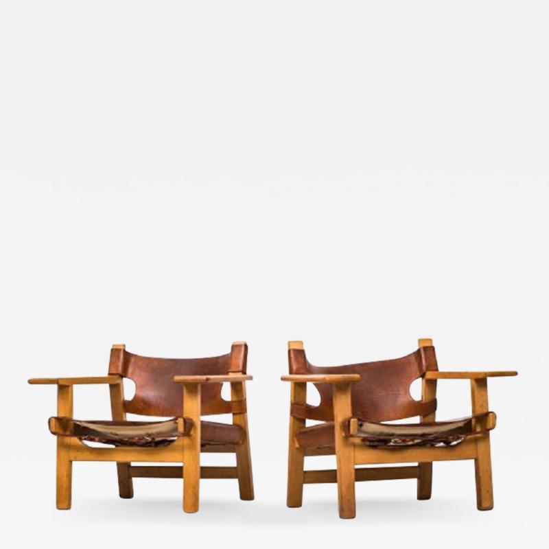B rge Mogensen B rge Mogensen Easy Chairs model 226
