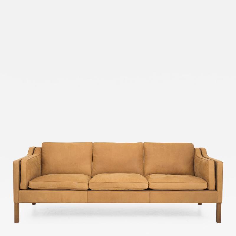 B rge Mogensen BM 2213 Newly Upholstered 3 Seater Sofa