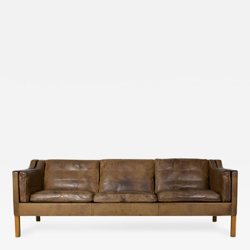 B rge Mogensen Borge Mogensen Model 2213 Three Seat Sofa