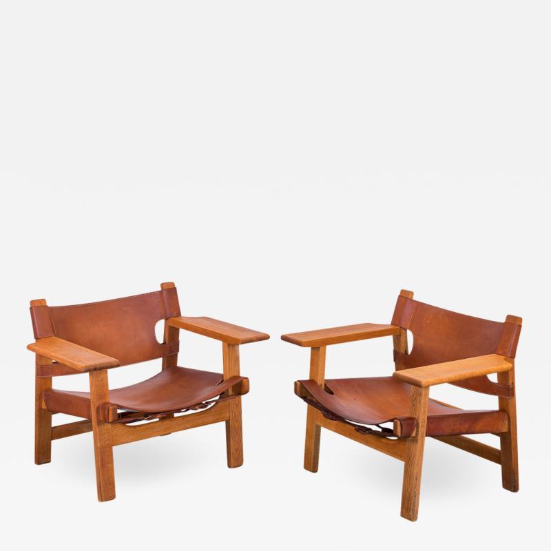 B Rge Mogensen Pairs Of Borge Mogensen Spanish Chairs For Fredericia  Stolefabrik