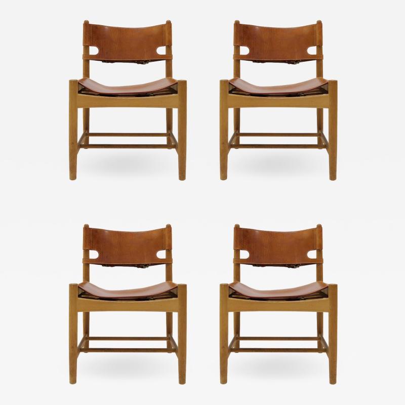 B rge Mogensen Set of B rge Mogensen Hunting Chairs Model 3237
