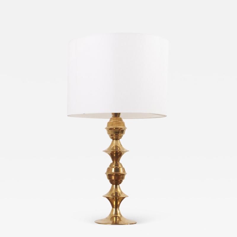 B rje Claes Table Lamp by B rje Claes for Norelett Sweden 1960s