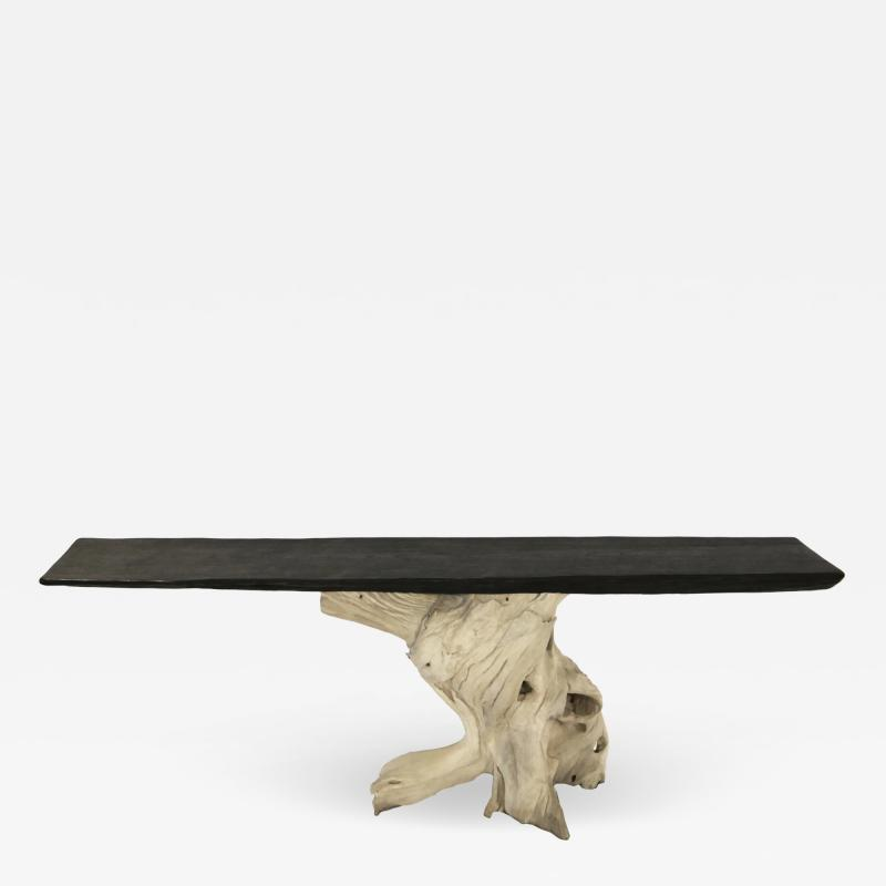 BLEACHED BLACK ROOT CONSOLE