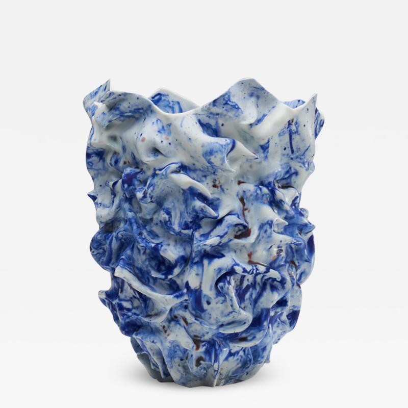 Babs Haenen Babs Haenen Rhapsody in Blue Vase the Netherlands 2016
