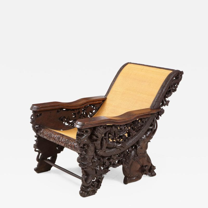 Balinese Rosewood Plantation Chair