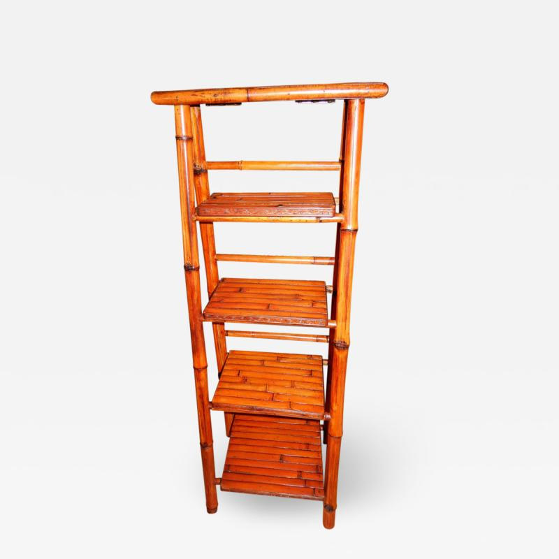 Bamboo West Indian Artisan Stand Ladder