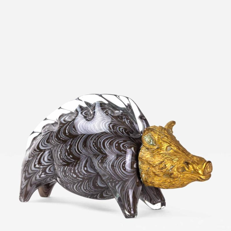 Barovier Glass Boar