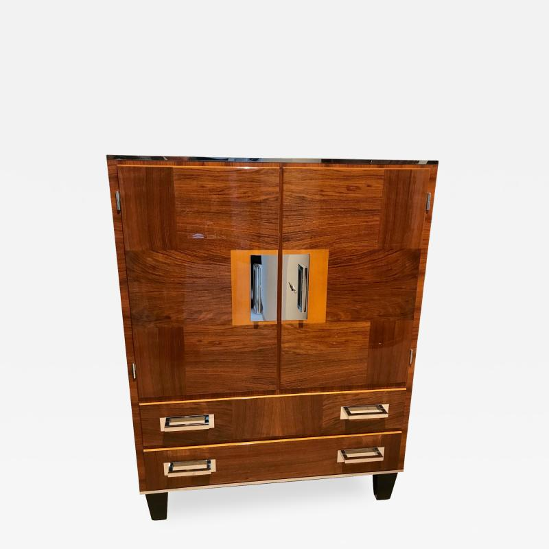 Bauhaus Cabinet Walnut Veneer Germany 1930s