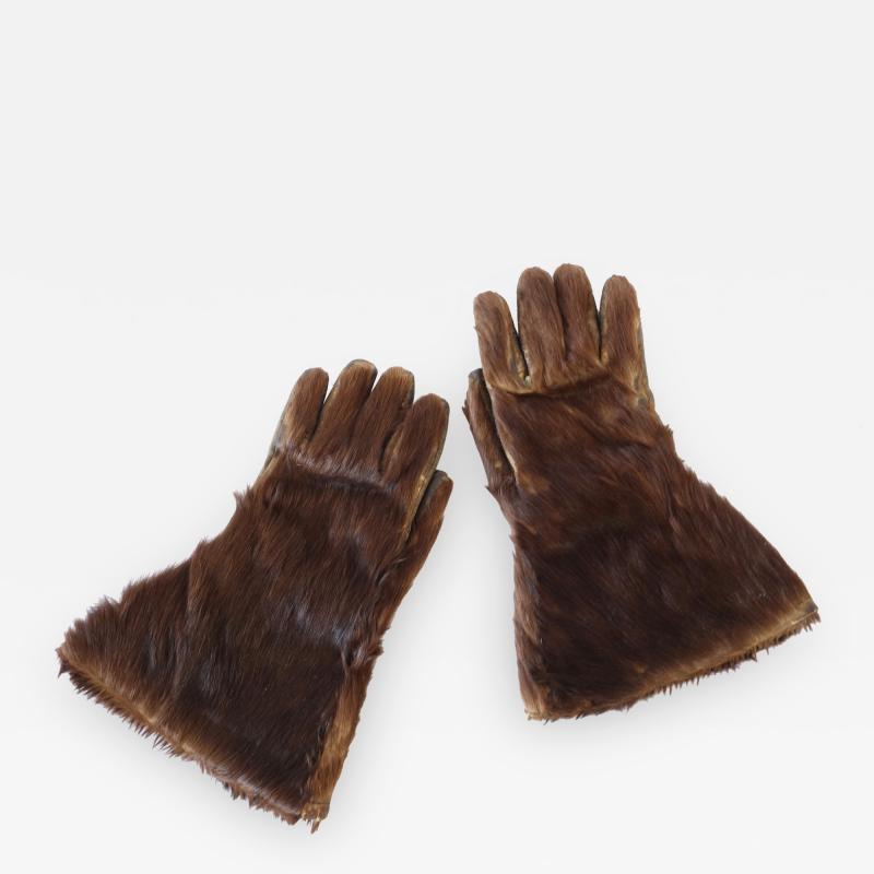 Bearskin Coachmans Gloves