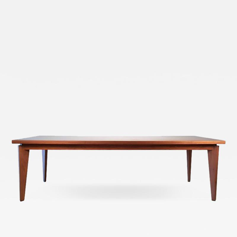 Ben Kanowsky Custom Made Solid Walnut Dining Table from the Studio of Ben Kanowsky