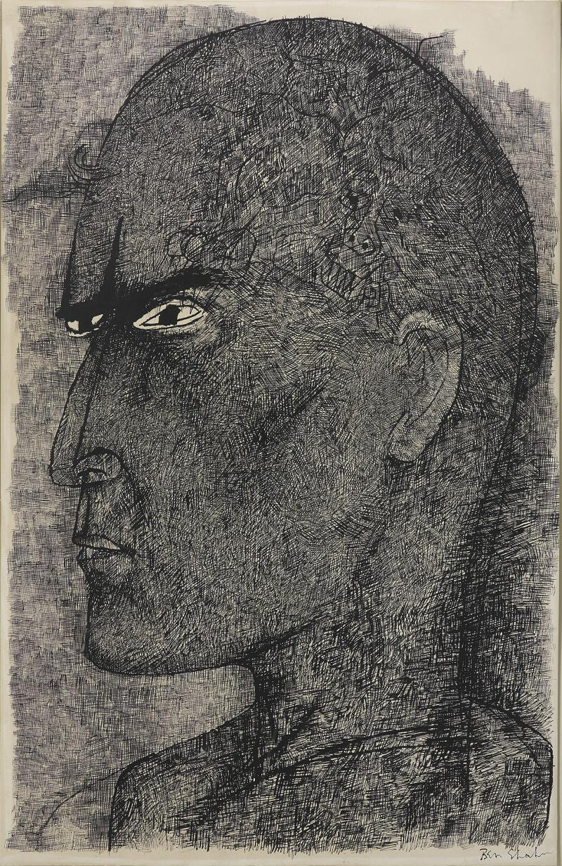 Ben Shahn Kuboyama Saga of the Lucky Dragon He died from H bomb testing at Bikini Island