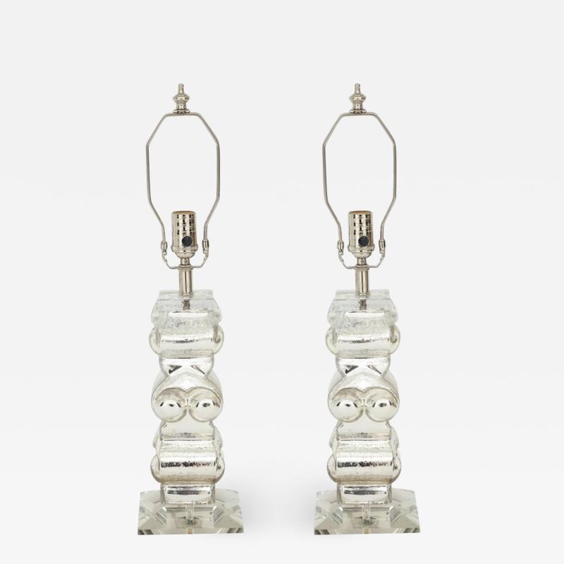 Bengt Edenfalk Bengt Edenfalk Swedish Mercury Glass Lamps