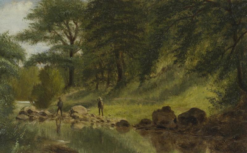 Benjamin Hartley On the Marmaton River Kansas 1880