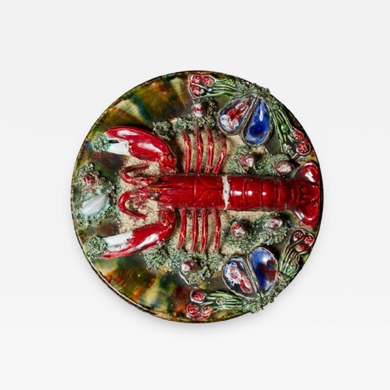 Bernard Palissy Majolica Palissy Style Plate