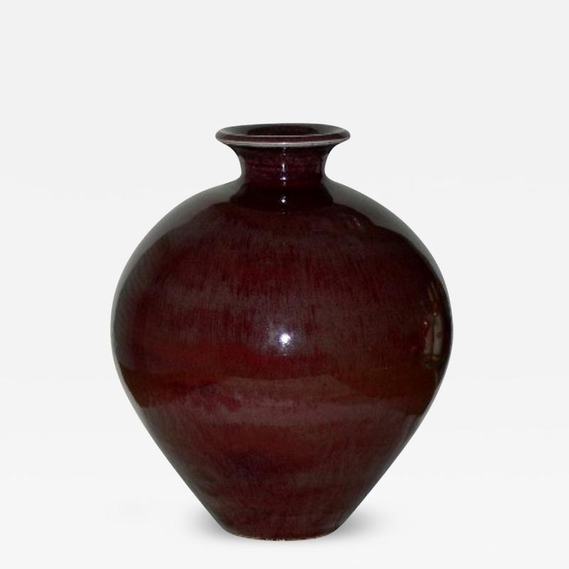 Berndt Friberg Berndt Friberg Scandinavian Modern Vase for Gustavsberg 1974