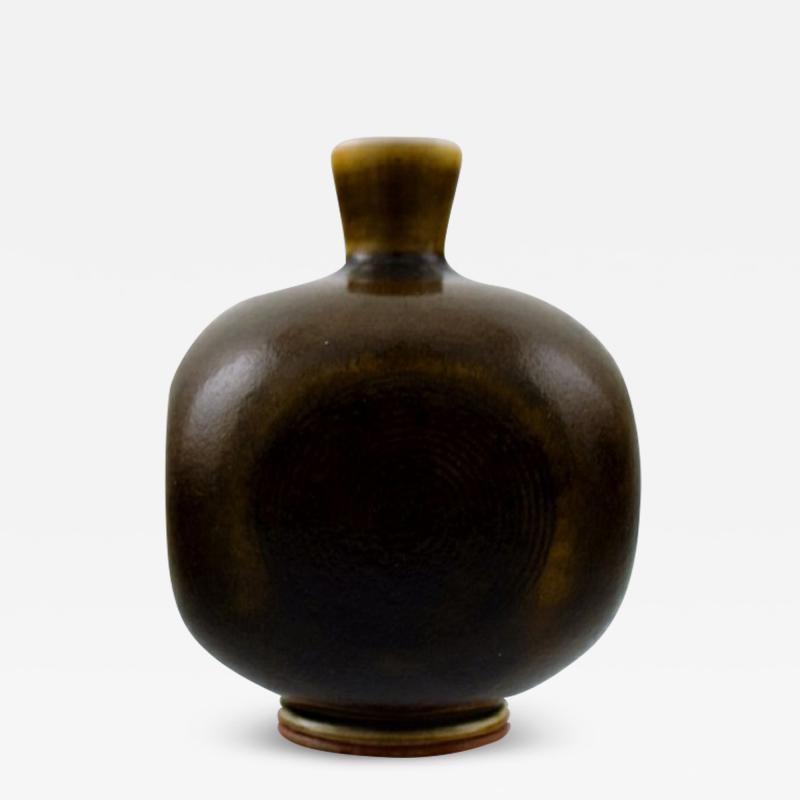 Berndt Friberg Berndt Friberg Studio ceramic vase Modern Swedish design Unique handmade