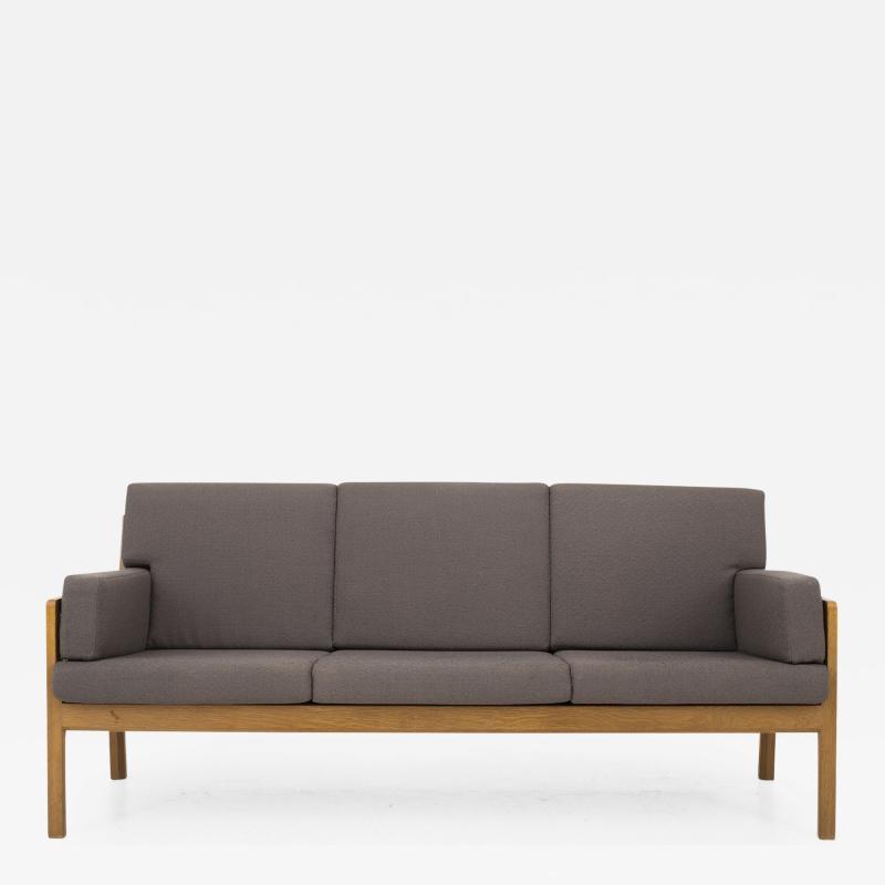 Bernt Petersen 3 Seater Bed in Oak