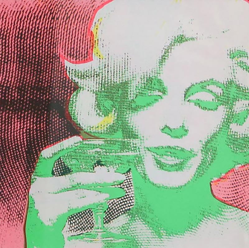 Bert Stern Original 1968 Marilyn Monroe Serigraph