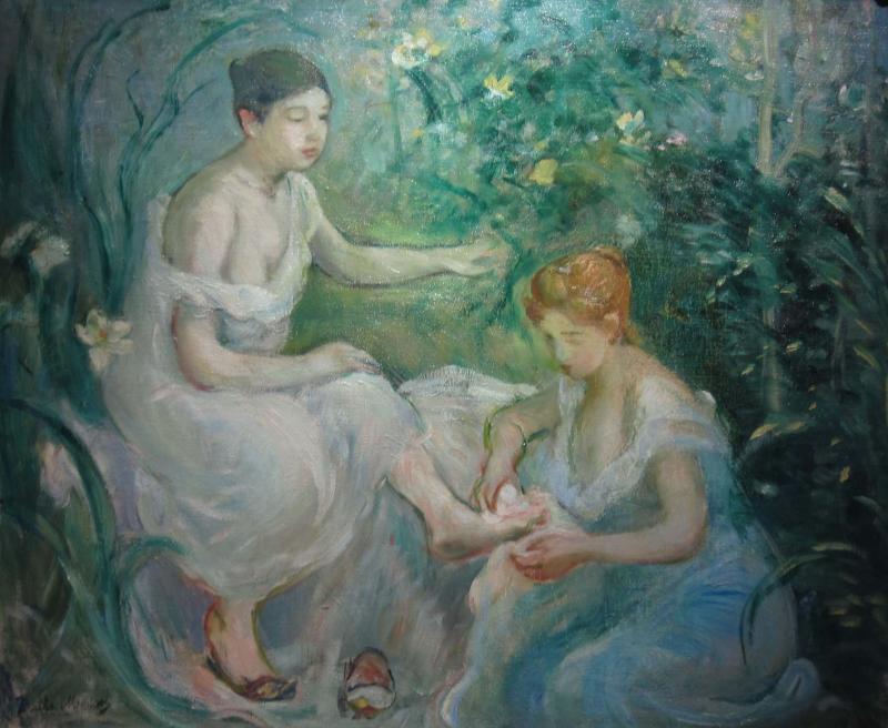 Berthe Morisot The Bath