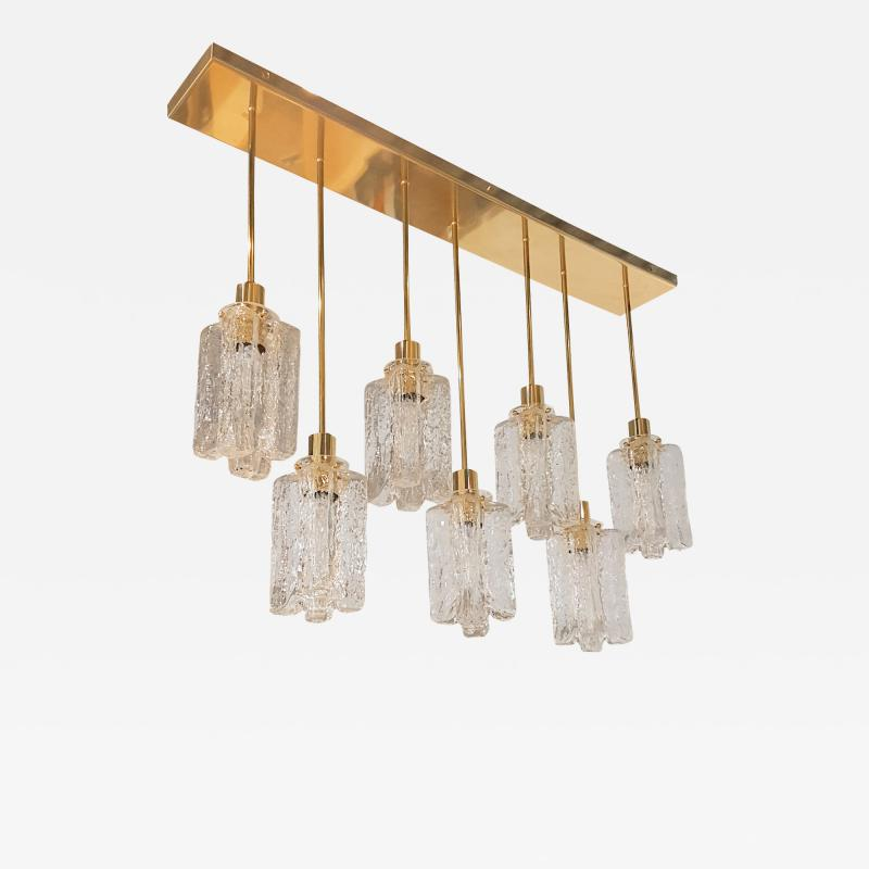 Bespoke Brass Murano Glass Chandelier by D Lightus